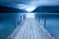 Rotoiti Lake - Nelson Lakes National Park, New Zealand