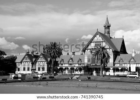 rotorua historic bathhouse in...