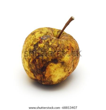 rotten apple