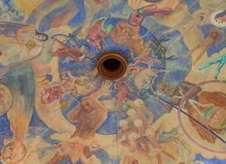 Rotunda Art Mural at Griffith Observatory.