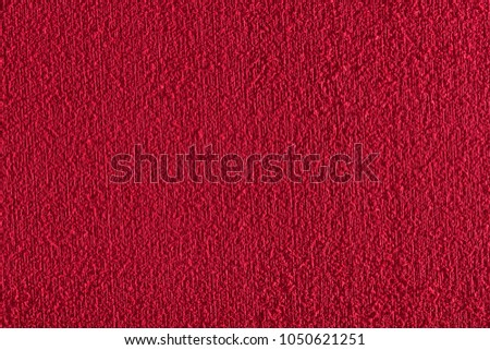 rough and soft red rubber texture, macro photography with high resolution and size