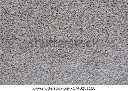 Rough bumpy white concrete plaster texture background. Stock foto ©