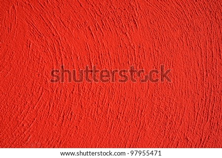 rough concrete texture with red color