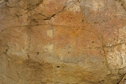 Rough Cracked Weathered Rock Texture