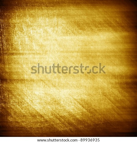 rough gold plate