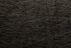 Rough grungy black fleecy cardboard with great texture