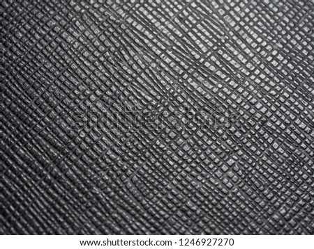 Rough leathery black surface for textural background