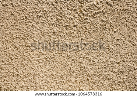 Rough rendered construction exterior full frame wall texture background #1064578316
