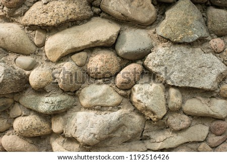 Rough stonework background