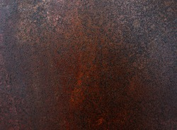 Rough texture - the surface of rusty iron sheet