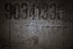 Rough textured blank concrete photo background
