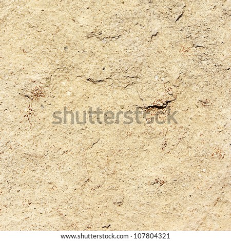 Rough wall texture.