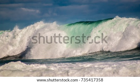 Rough waves #735417358