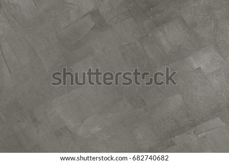 Roughly gray-brown painted canvas with large sweeping smears, background #682740682