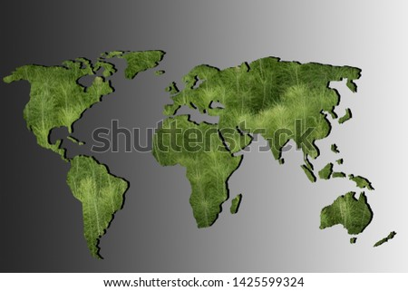 Roughly outlined world map with white background #1425599324