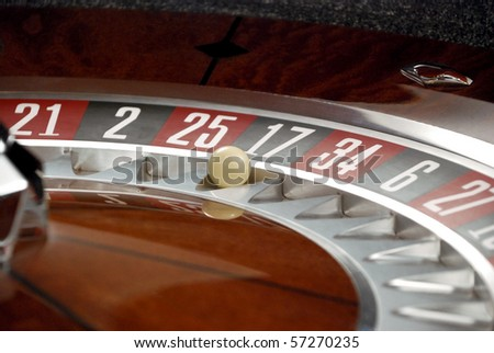 Roulette and Ball