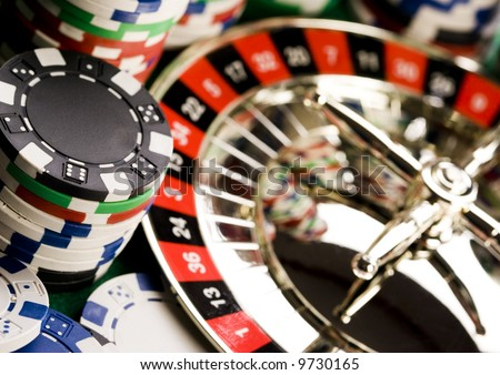 Roulette & Chips & Casino