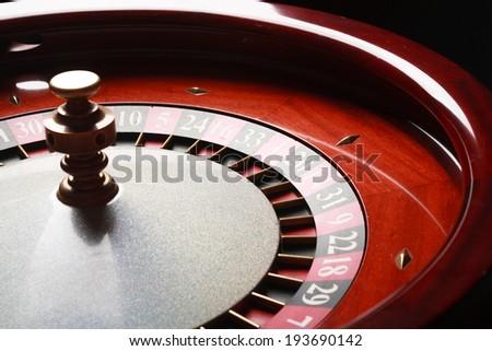 Roulette in casino (casino series). studio shot