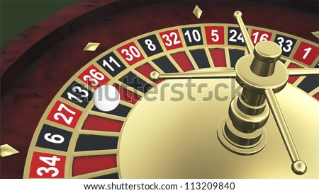 Roulette spinning
