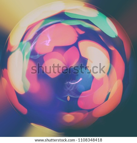 Round Grunge Background Pattern, Retro Style, Grungy. Color Paint Abstract Backdrop. Brush Stroke In Circle #1108348418