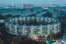Round house in Moscow