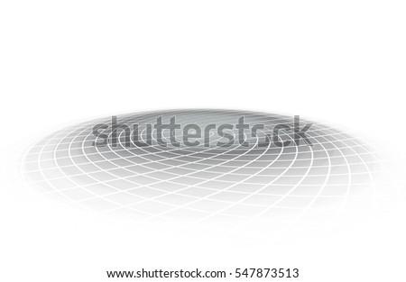Shutterstock Round presentation platform on white background. Raster graphic template
