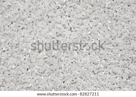round rice texture