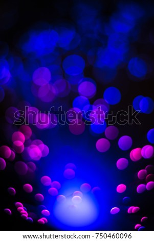 Round spheres of light from fiber optic cables #750460096