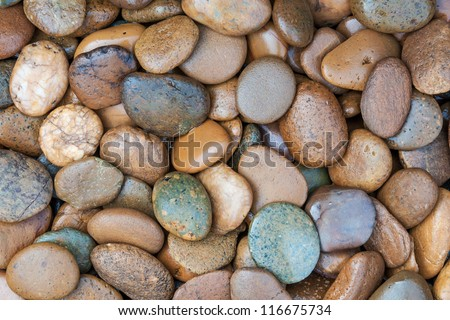 round stone for background purpose