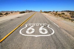 Route 66 Highway American Road Trip