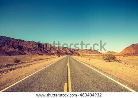 Route 66 in California #480404932