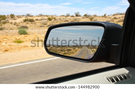 Route 66 in the Mirror #144982900