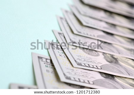 Row of one dollar bills Images and Stock Photos - Page: 2