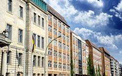 Row of Buildings in Berlin, Germany