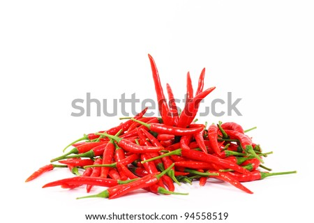 row of red chili
