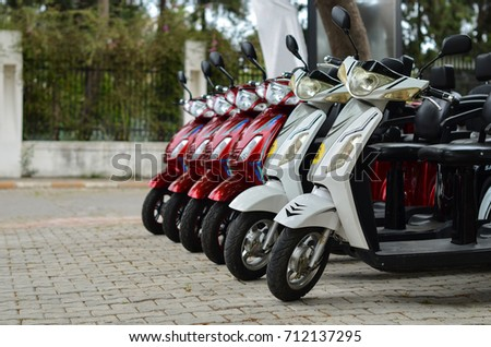 row scooters for rental #712137295