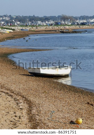 Rowboat at the seaside