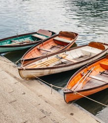 Rowing boats on the Thames
