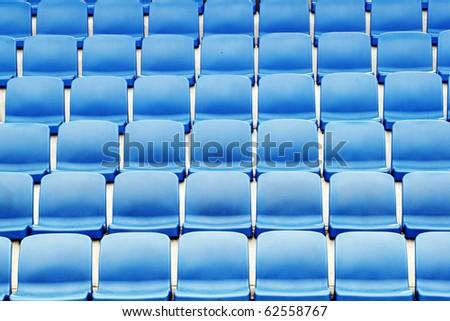 Plastic Stadium Seating on