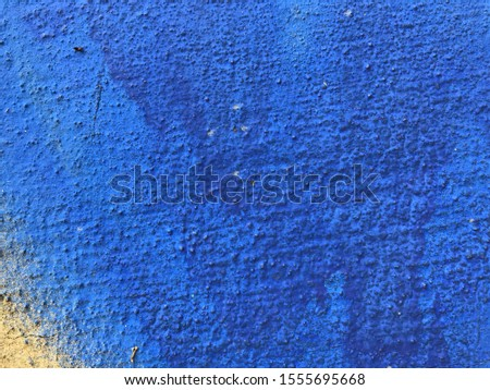 Royal blue cement wall background  #1555695668