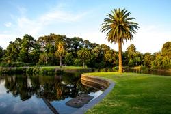 Royal Botanic garden, Melbourne, Australia