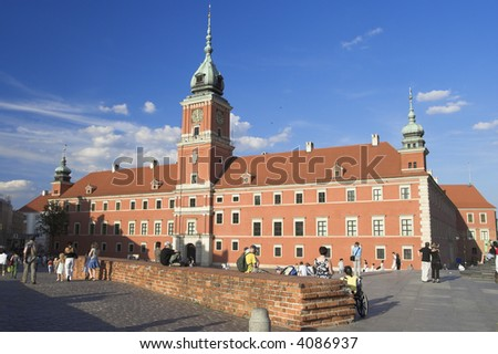 Royal Castle in Old Town, Warsaw, Poland.