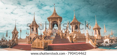 Royal Crematorium in Bangkok, Thailand