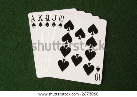 Royal Flush, Spades