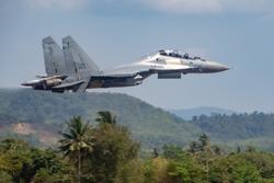 Royal Malaysian Airforce Sukhoi Su-30MKM