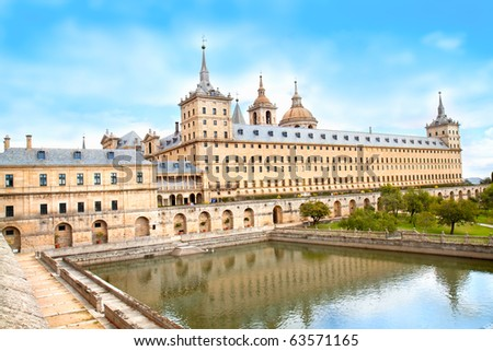 Royal Monastery of San Lorenzo de El Escorial, El  Escorial,  Spain