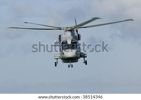 Royal Navy Anti-Submarine Warfare helicopter