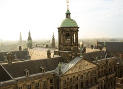 Royal Palace of Amsterdam  Top view (Paleis op de Dam)