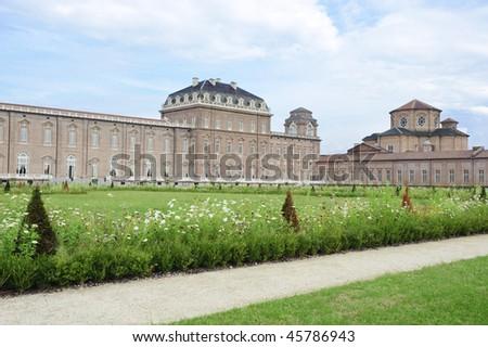 royal palace Reggia di Venaria - Turin