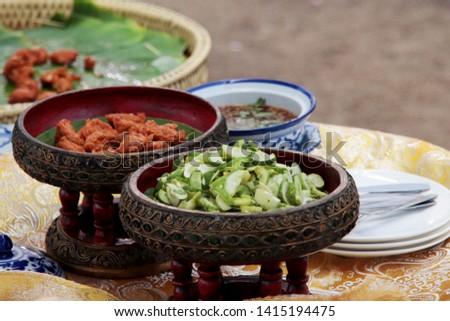 Royal Thai food and Thai cooking methods #1415194475
